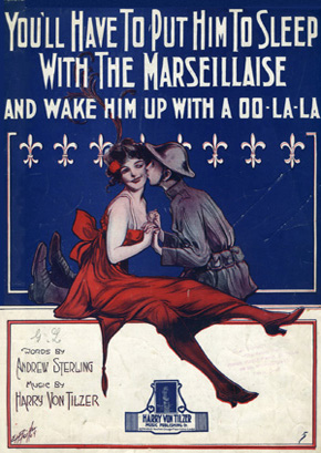 "Sheet music for ""You'll Have to Put Him to Sleep with the Marseillaise"""